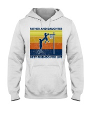 basketball Father And Daughter Hooded Sweatshirt thumbnail