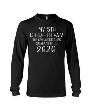 My 5th Birthday The One Where I Was 5 years old  Long Sleeve Tee thumbnail