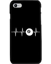 Billiards Ball 8 Heartbeat Phone Case thumbnail