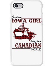 Just An Iowa Girl In Canadian Phone Case thumbnail