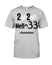 33rd Birthday 33 Years Old Classic T-Shirt front