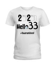 33rd Birthday 33 Years Old Ladies T-Shirt thumbnail