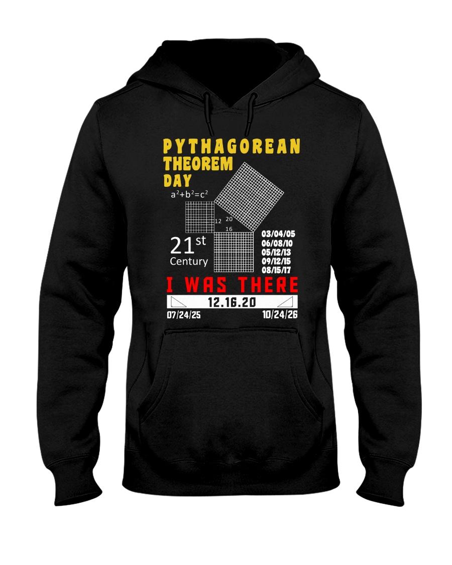 Math Pythagorean Theorem Day  Hooded Sweatshirt