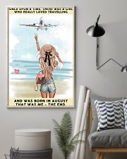 August Girl-Travelling 24x36 Poster lifestyle-poster-1