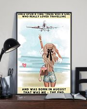August Girl-Travelling 24x36 Poster lifestyle-poster-2