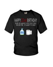 22th birthday 22 year old Youth T-Shirt tile