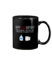 22th birthday 22 year old Mug tile