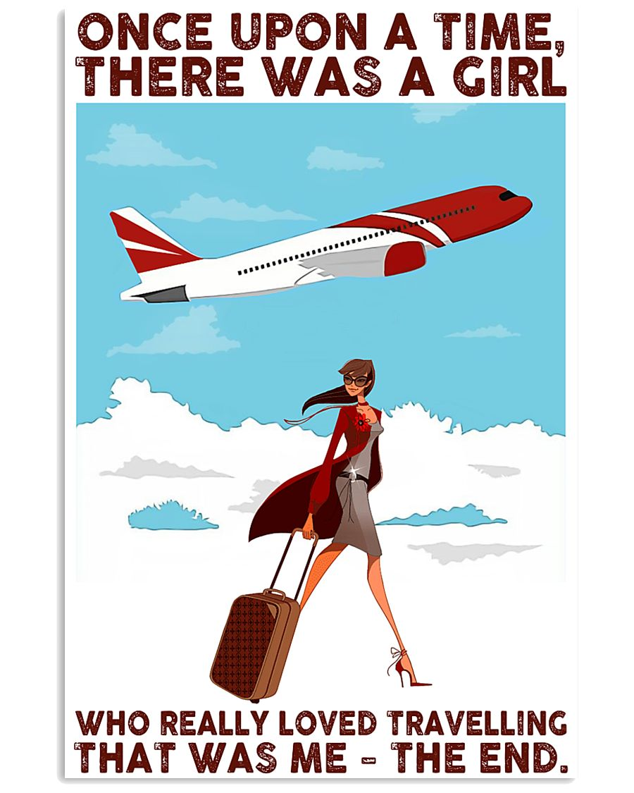 Travelling Girl Once Upon A Time 24x36 Poster