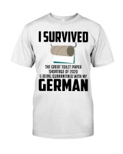 Being Quarantined With My German Classic T-Shirt front