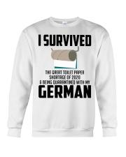 Being Quarantined With My German Crewneck Sweatshirt tile
