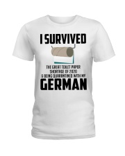 Being Quarantined With My German Ladies T-Shirt tile