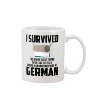Being Quarantined With My German Mug tile