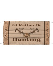 I'd Rather Be Hunting Cloth face mask thumbnail