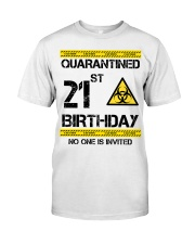 21st Birthday 21 Years Old Classic T-Shirt front