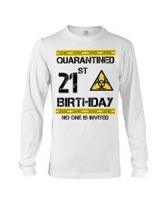 21st Birthday 21 Years Old Long Sleeve Tee thumbnail
