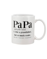 Papa like a grandfather but so much cooler Mug tile