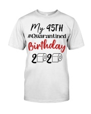 45th Birthday 45 Year Old Classic T-Shirt front