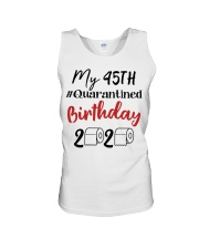 45th Birthday 45 Year Old Unisex Tank tile