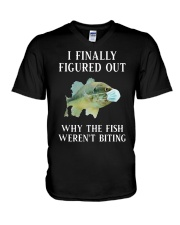 Why The Fish Weren't Biting V-Neck T-Shirt thumbnail