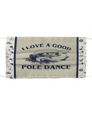 Fishing I Love A Good Pole Dance  Mask tile