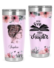 Reading Personalized Christmas Gift 20oz Tumbler front
