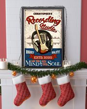 Recording studio Where words fail Personalized 16x24 Poster lifestyle-holiday-poster-4