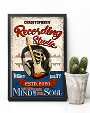 Recording studio Where words fail Personalized 16x24 Poster lifestyle-poster-8