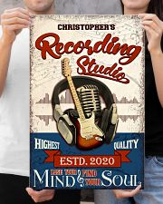 Recording studio Where words fail Personalized 16x24 Poster poster-portrait-16x24-lifestyle-19