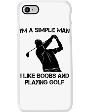 I Like Boobs And Playing Golf Phone Case thumbnail