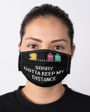 Pacman Social Distances Cloth face mask aos-face-mask-lifestyle-01