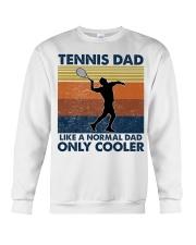 Tennis Dad Like A Normal Dad Only Cooler Crewneck Sweatshirt thumbnail