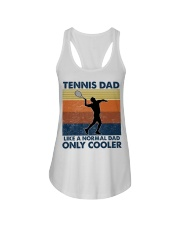 Tennis Dad Like A Normal Dad Only Cooler Ladies Flowy Tank thumbnail