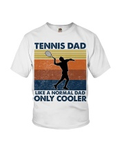 Tennis Dad Like A Normal Dad Only Cooler Youth T-Shirt thumbnail