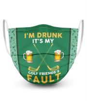 I'm Drunk It's My Golf Friends's Fault Masks tile