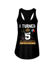 5th Birthday 5 Years Old Ladies Flowy Tank thumbnail