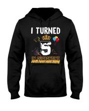 5th Birthday 5 Years Old Hooded Sweatshirt thumbnail