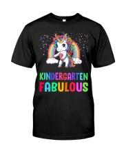Kindergarten Fabulous Classic T-Shirt front