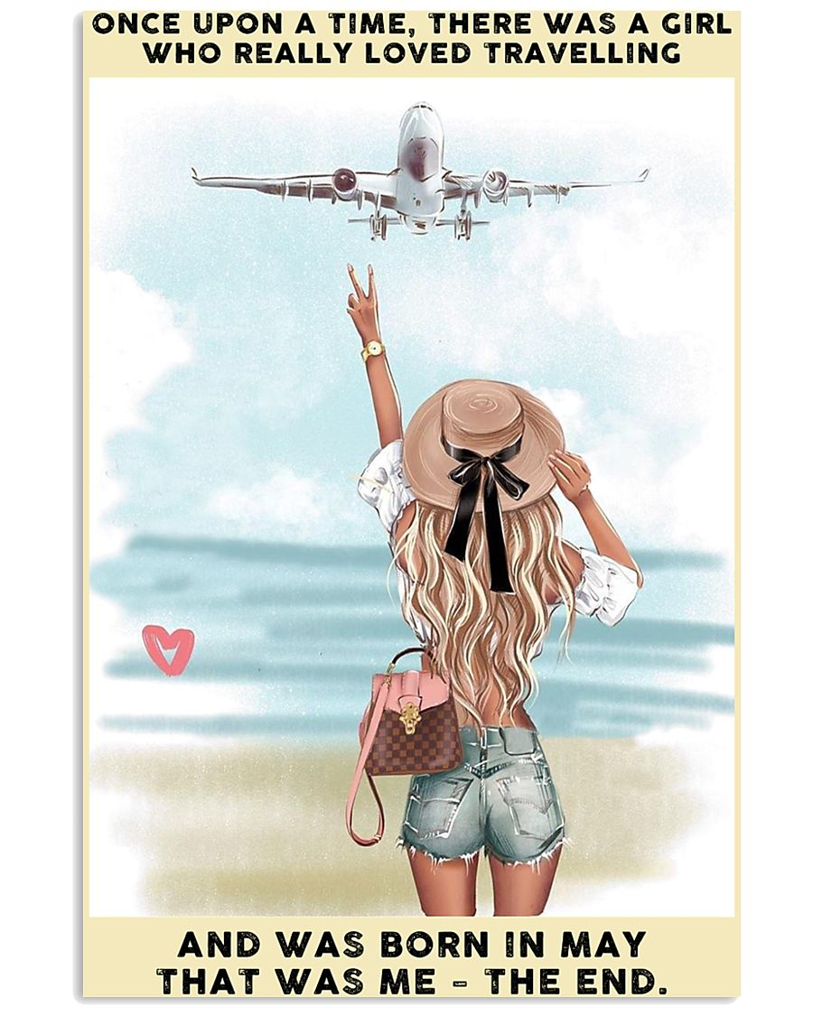 May Girl-Travelling 24x36 Poster