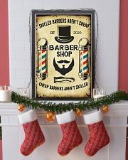 Barbershop Skilled Barbers Aren't Cheap  11x17 Poster lifestyle-holiday-poster-4