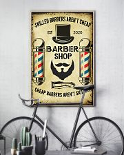 Barbershop Skilled Barbers Aren't Cheap  11x17 Poster lifestyle-poster-7