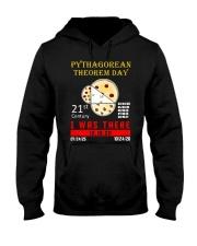 Math Pythagorean Theorem Day Hooded Sweatshirt front