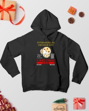 Math Pythagorean Theorem Day Hooded Sweatshirt lifestyle-holiday-hoodie-front-2