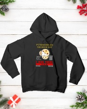 Math Pythagorean Theorem Day Hooded Sweatshirt lifestyle-holiday-hoodie-front-3