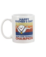 Happy Father's Day From Your Swimming Champion Mug back