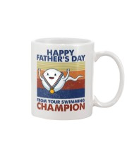 Happy Father's Day From Your Swimming Champion Mug front