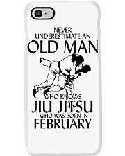 Never Underestimate Old Man Jiu Jitsu February Phone Case thumbnail