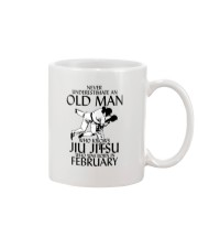 Never Underestimate Old Man Jiu Jitsu February Mug thumbnail
