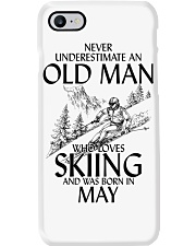 An Old Man Loves Skiing May Phone Case thumbnail