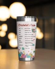 Crochet's Code - Personalized Christmas Gift 20oz Tumbler aos-20oz-tumbler-lifestyle-front-04