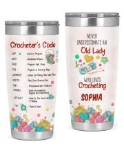 Crochet's Code - Personalized Christmas Gift 20oz Tumbler front